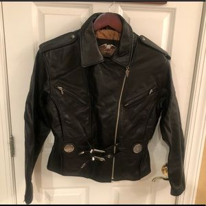 Beautiful Ladies Leather Harley Davidson Jacket